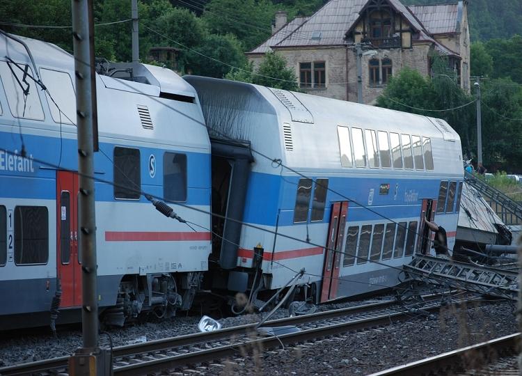 Tragická železničná nehoda v Ústi nad Labem